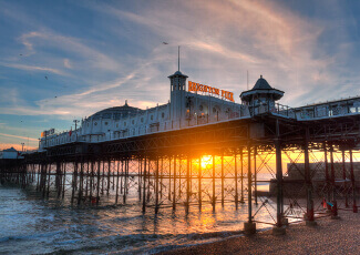 Brighton, kurs Intensive English